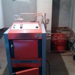 Centrala pe lemne cu gazeificare Atmos de 40 kw.